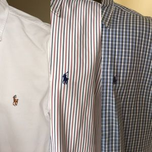 Bundle of Ralph Lauren casual Button Downs